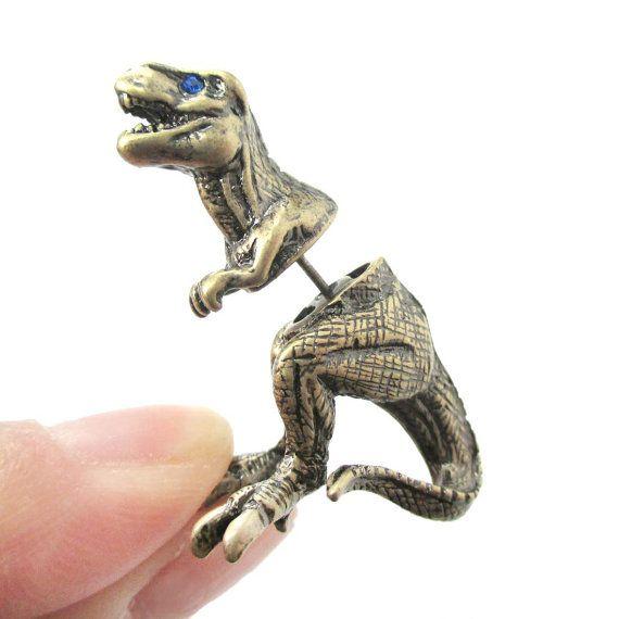 aretes dinosaurio