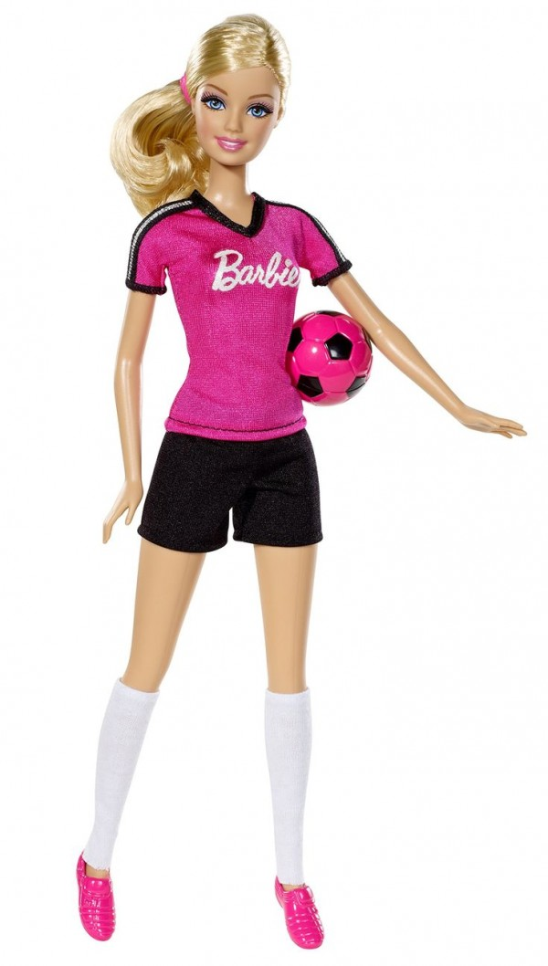 barbie soccer