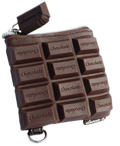 bolsa en forma de chocolate
