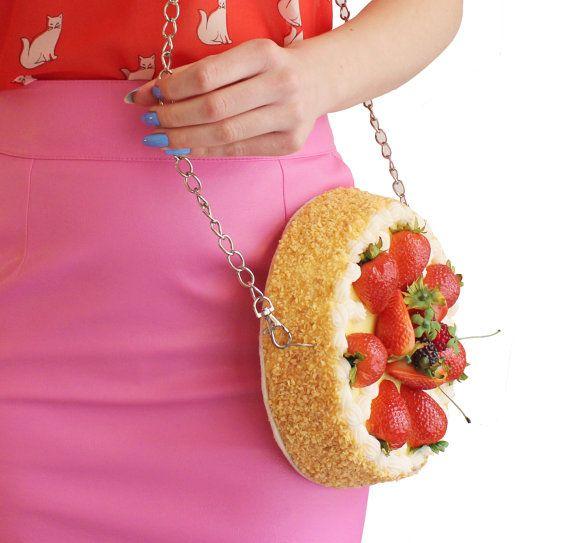 bolsa en forma de tarta