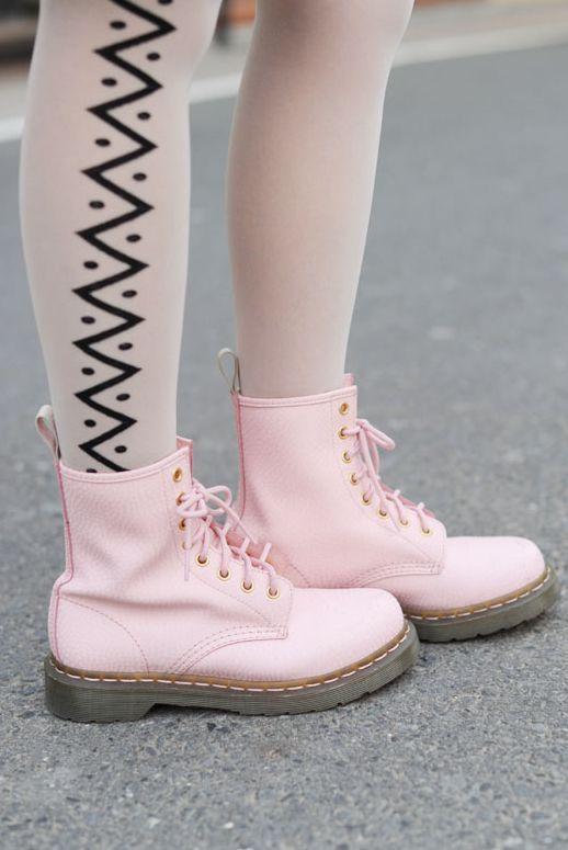 botas pastel