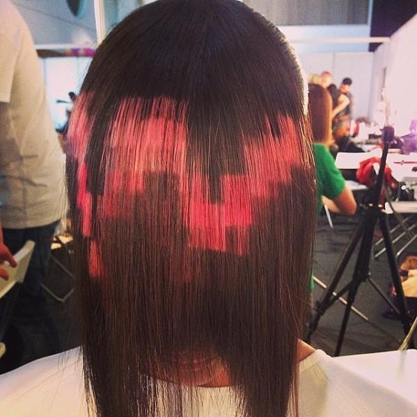 cabello pixel