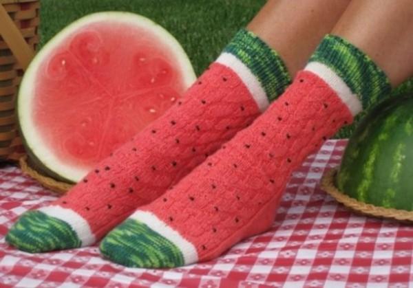 calcetas sandias