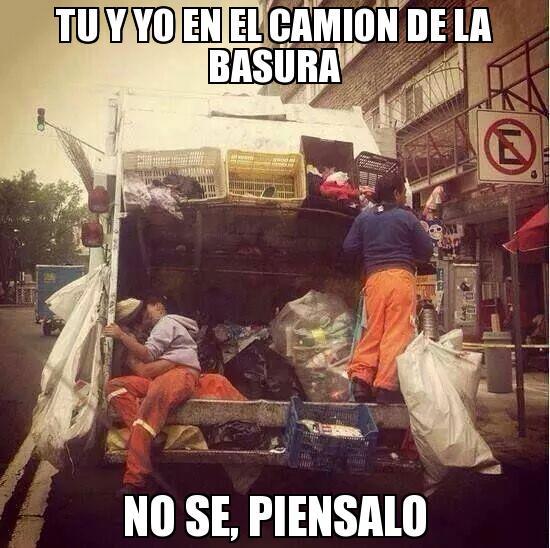 camion basura