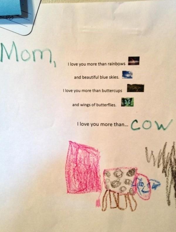 carta a mamá