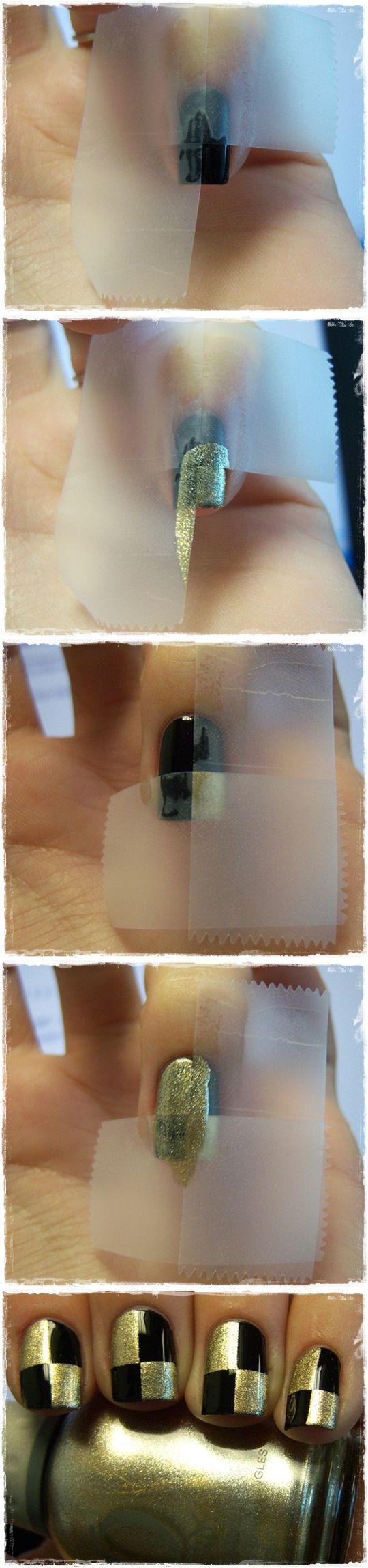 cintaadhesiva uñas