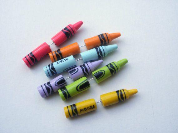 crayolas aretes