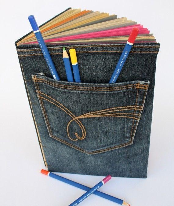 cuaderno mezclilla