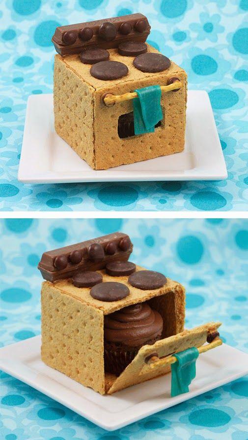cupcake horno galleta