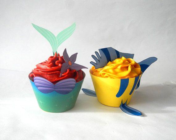 cupcake mermaid