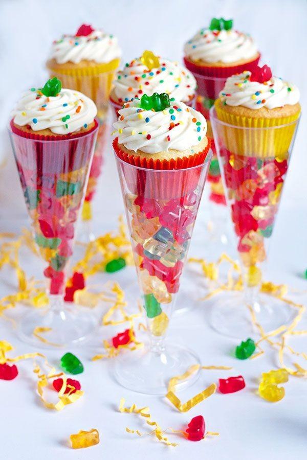 cupcakes y gomitas