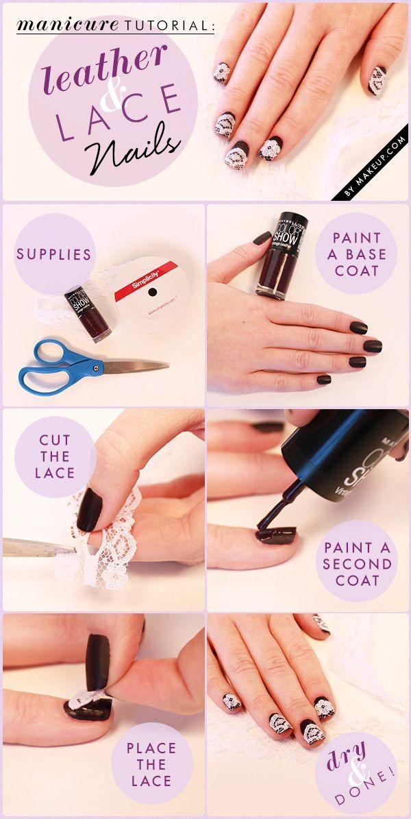encaje uñas