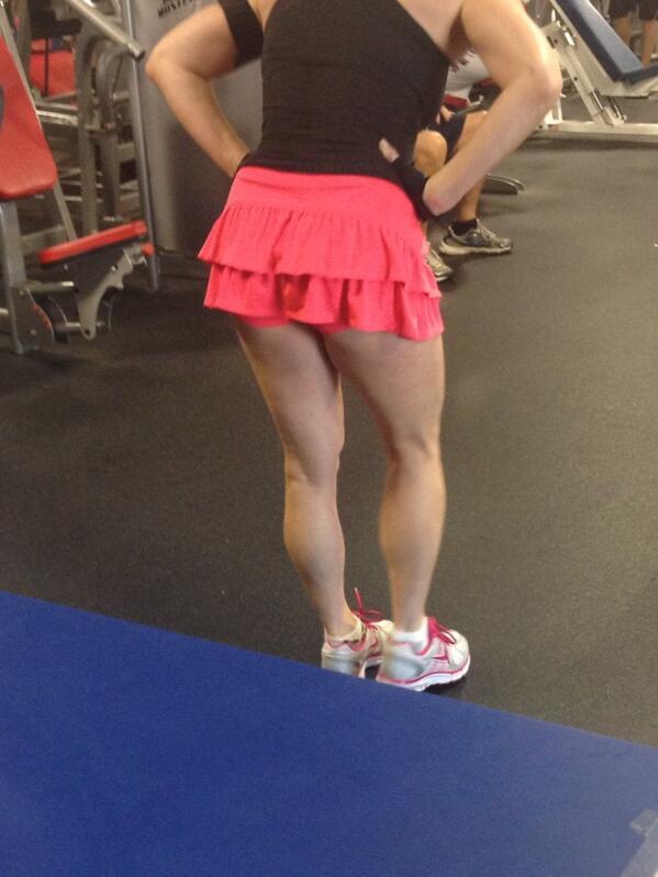 falda gym