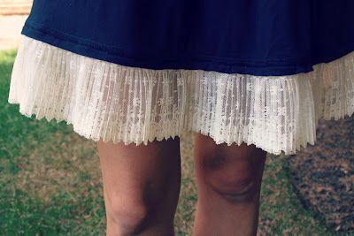 falda vintag