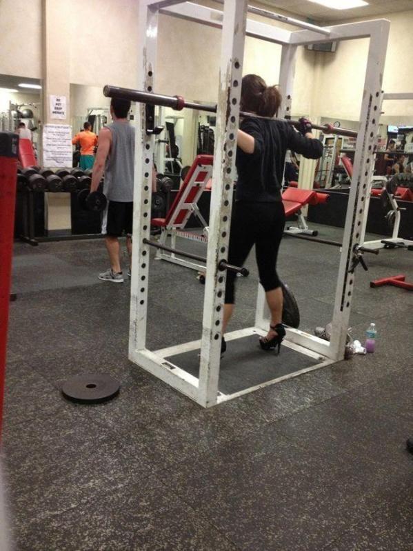 gym tacones