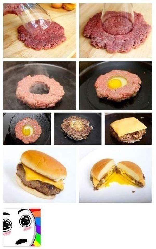 hamburgesa truco