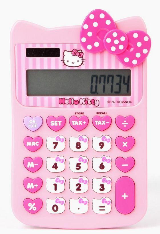 hello kitty calculadora