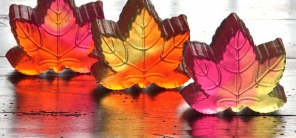 jabones hojas