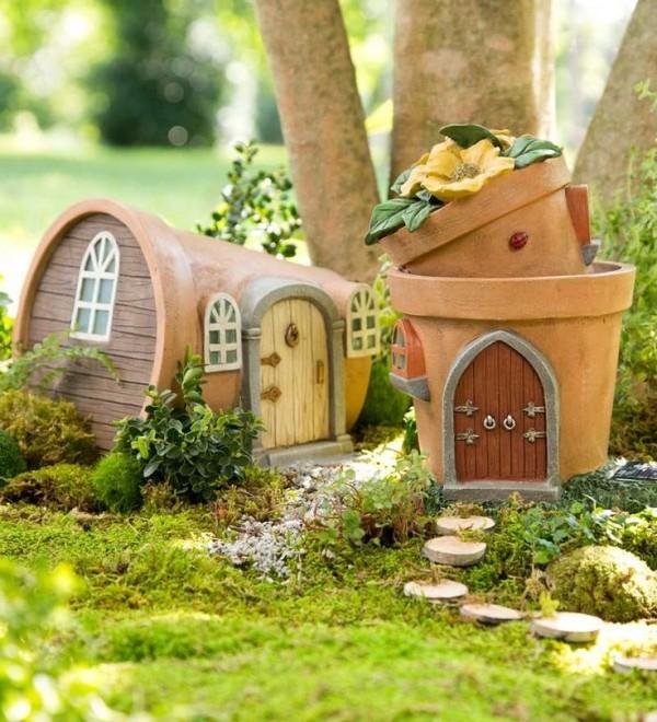 Casas que tienes que hacer si quieres que las hadas vivan for Amaru en la puerta de un jardin
