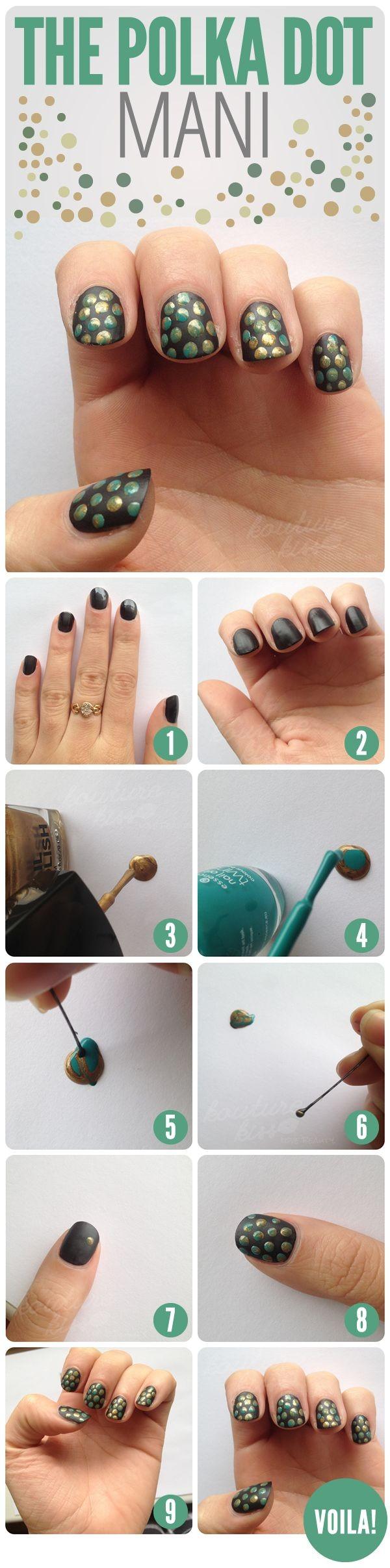 manicure textura