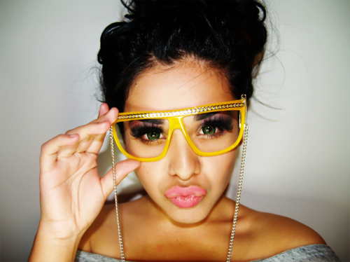 maquillaje lentes