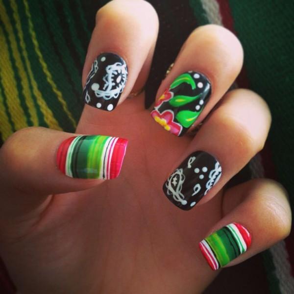 mexicanas uñas