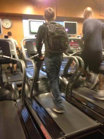 mochila gym