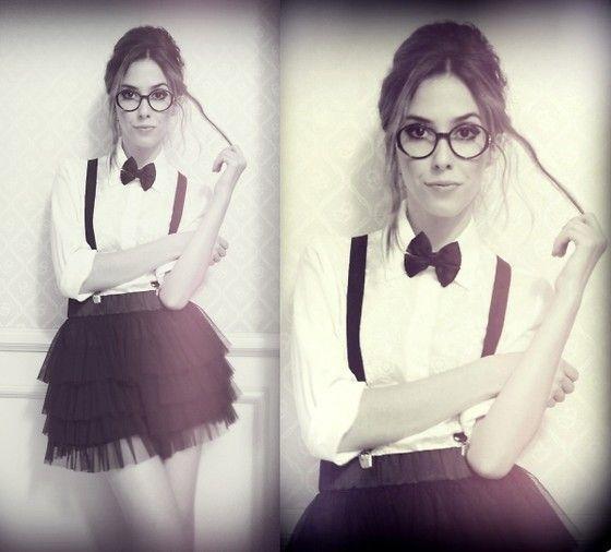 nerd chica