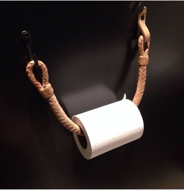 papel de baño accesorios
