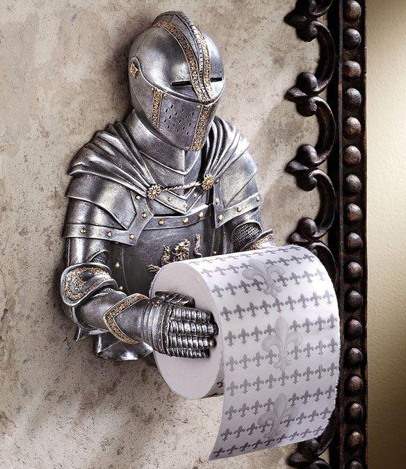 papel de baño armadura