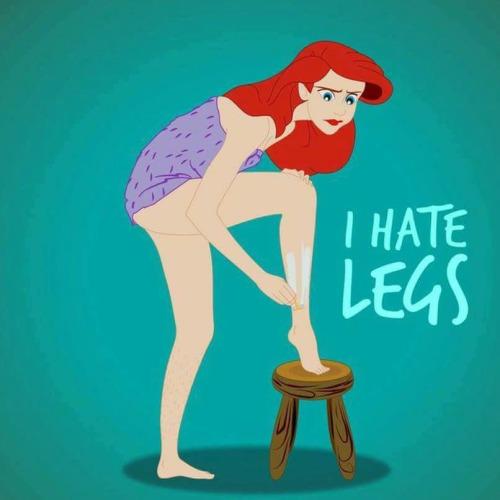 rasuro las piernas