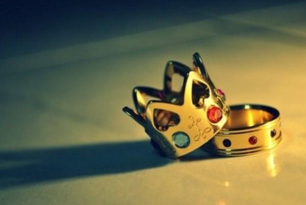 rey reina anillos