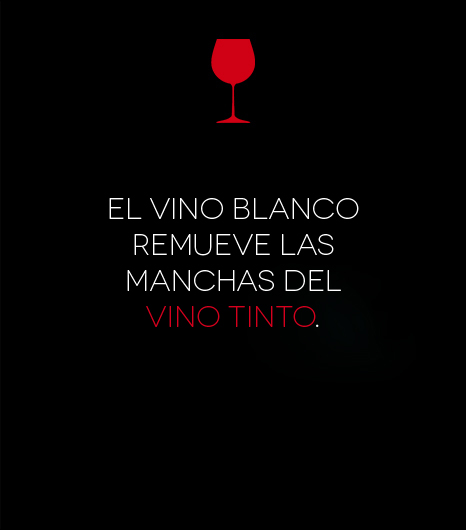 solucionar mancha vino tinto