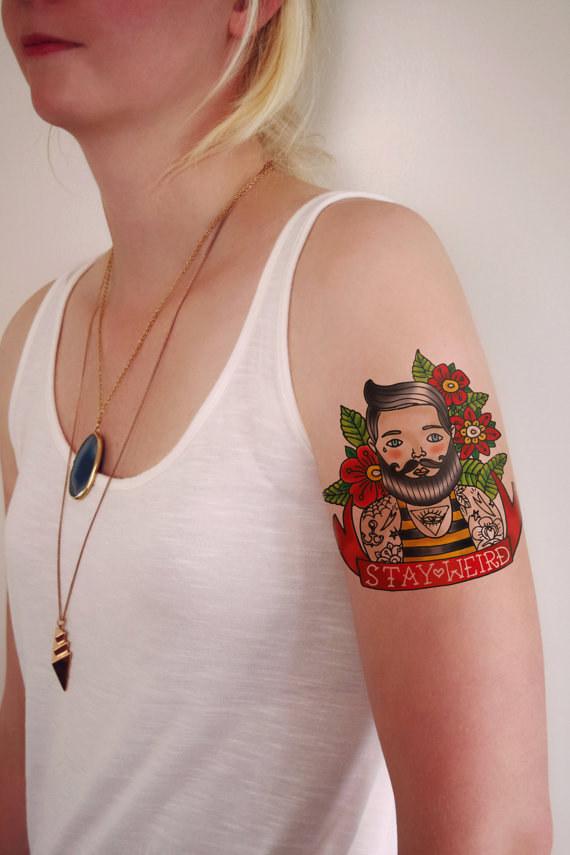 tatuaje raro