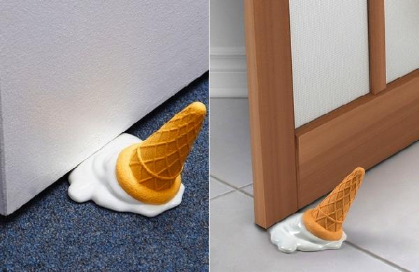 tope para puerta helado