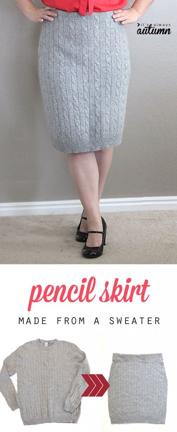 vintage falda