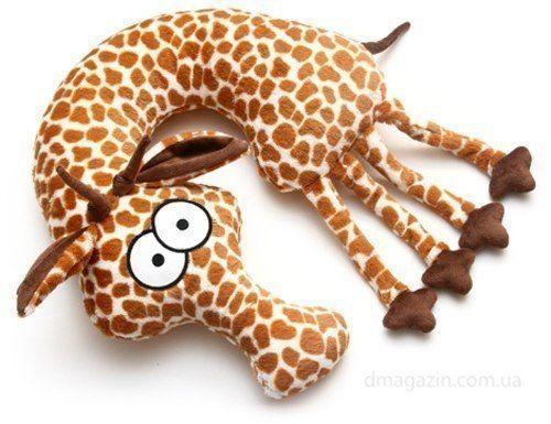 almohada jirafa