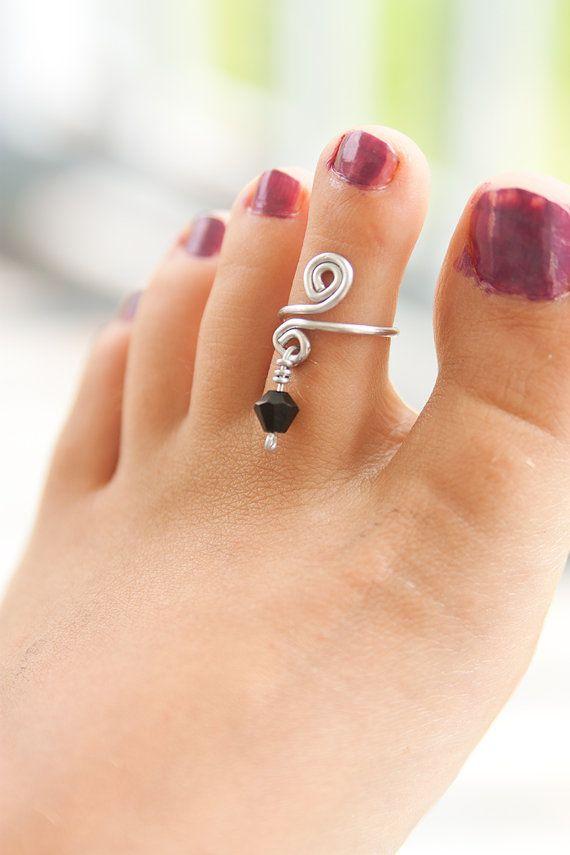 anillos para pie