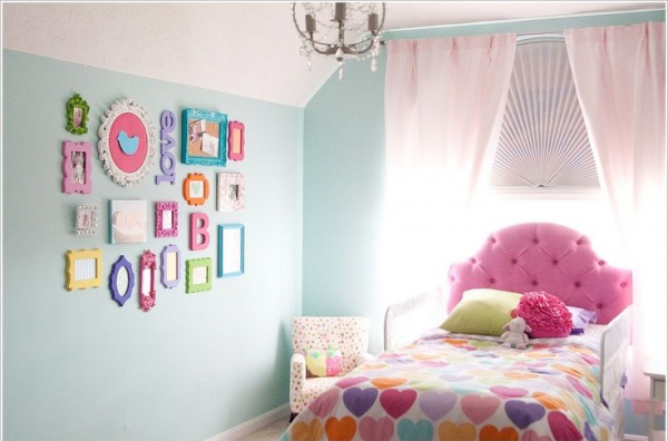 Lindas ideas para decorar la habitaci n de una ni a for Cuartos para ninas vintage