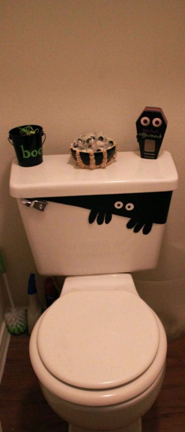 15 Infartantes maneras de decorar tu baño este Halloween