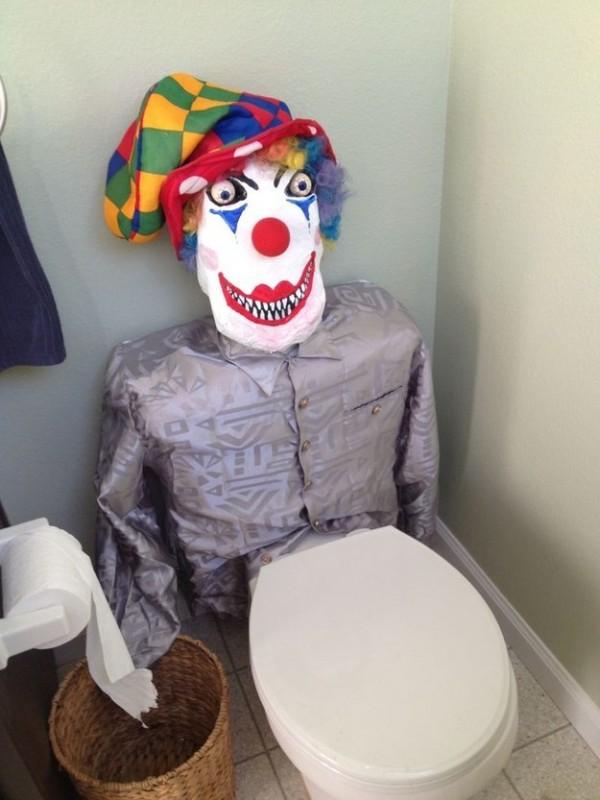 baño payaso