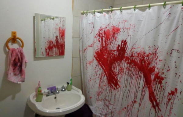 baño terror