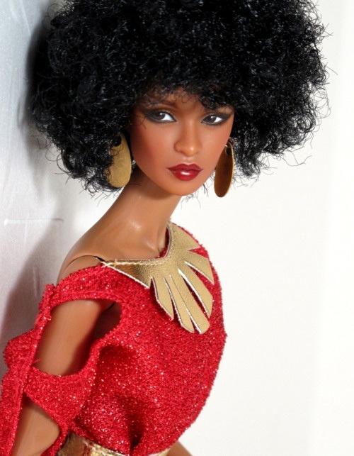 barbie-afro