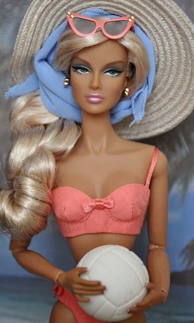 barbie traje de baño
