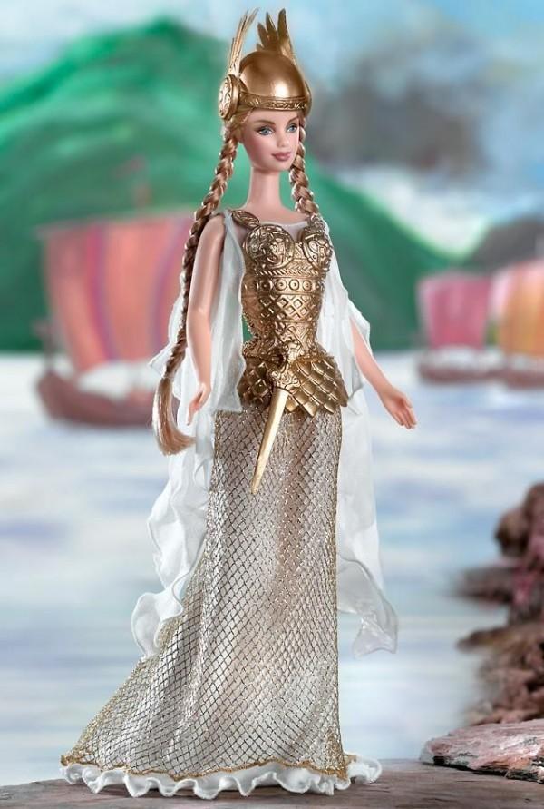 barbie vikinga