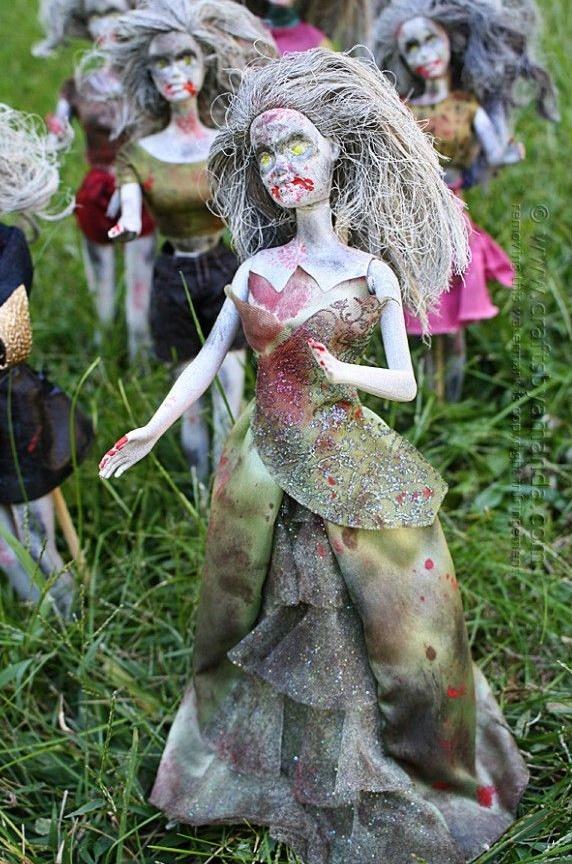barbie zombie