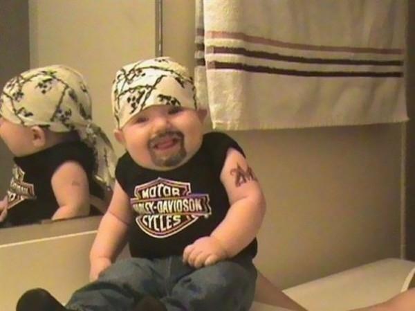 bebe malo