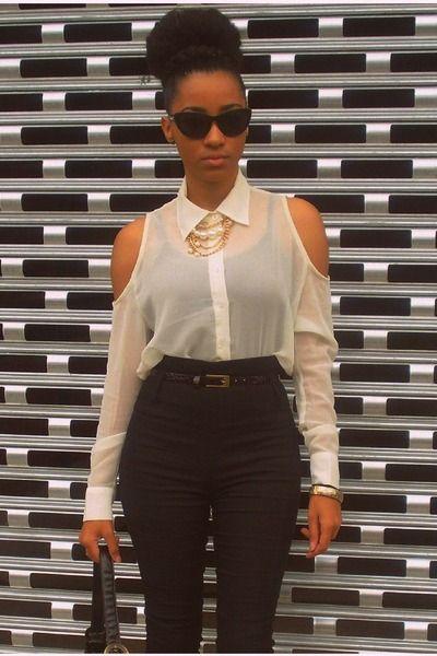 blusa escote hombros