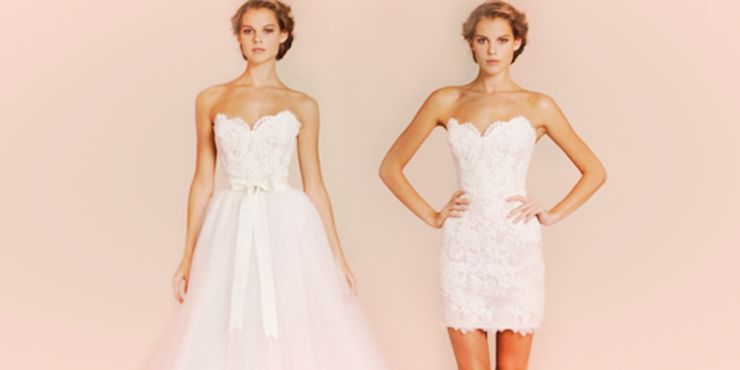 15 Vestidos convertibles que vas a querer el día de tu boda