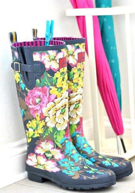 botas flores